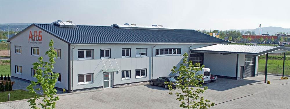 AdPoS Firmensitz in Frochheim von außen