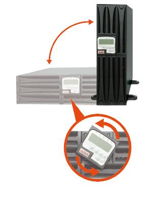 Online USV AdPoS Mini J RT Pro II 1 - 10 kVA flexibel