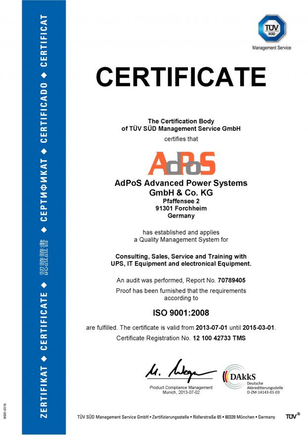 AdPoS_Iso9001_GB