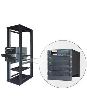 Modulare USV HiUp 10 - 90 kVA Rack