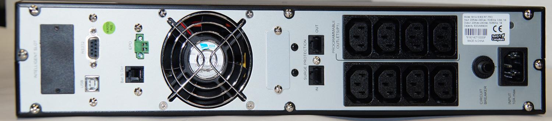 Steckplätze für AdPos USV Micro-S-800-RT-Pro_RS