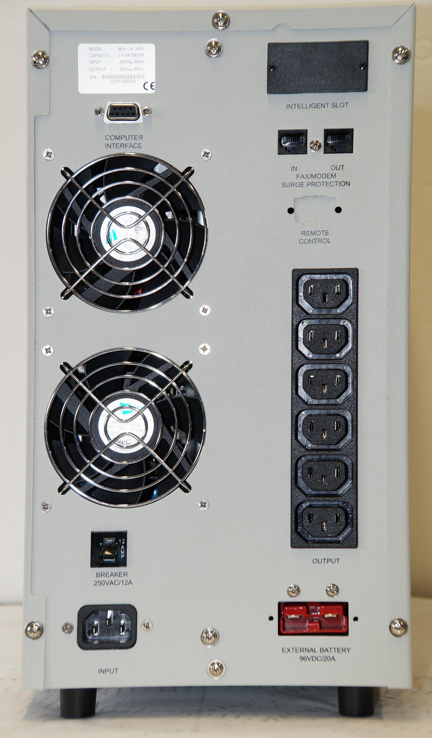 Stecklplätze der USV Mini-J-E-2000