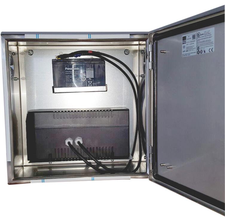 USV Sonderlösung: Micro 850 USV im Rittalschrank offen